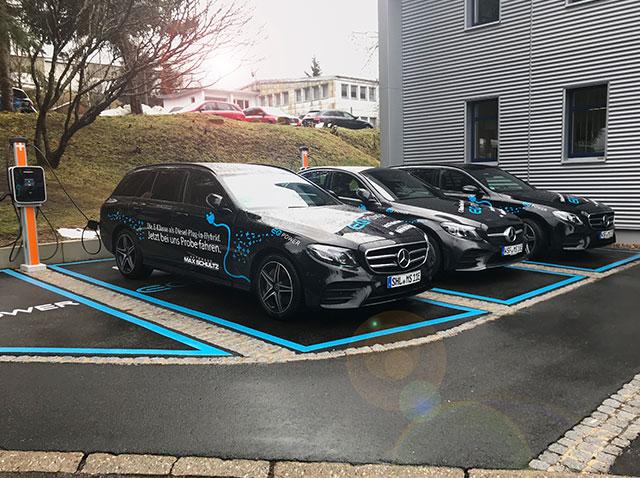 Autohaus Max Schultz E-Klasse als Diesel Plug-in-Hybrid