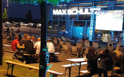 Public Viewing bei MAX – FRA vs. GER