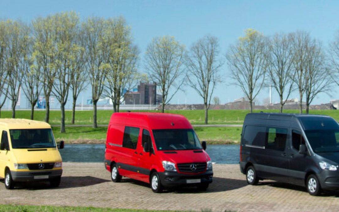 25 Jahre Sprinter – Mercedes-Benz News