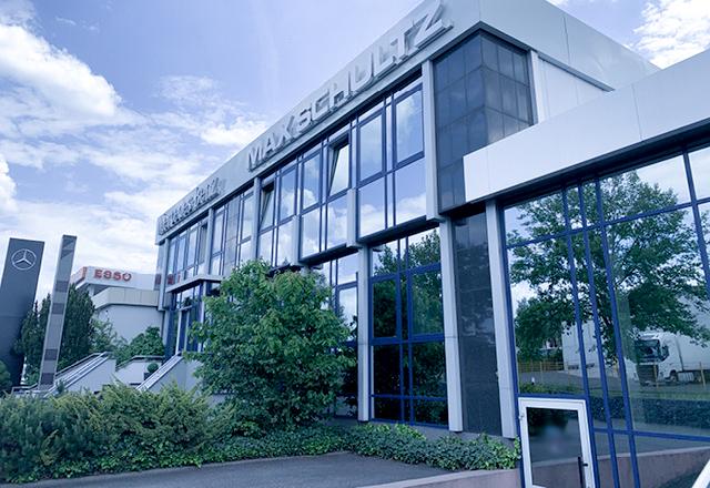 Max Schultz Autohaus Standort Sonneberg