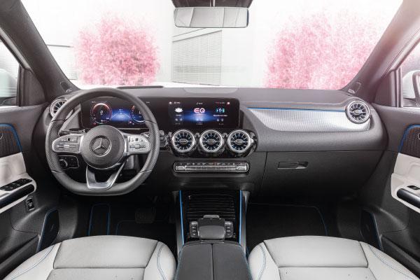 Max Schultz Automobile Mercedes Benz EQA Interieur