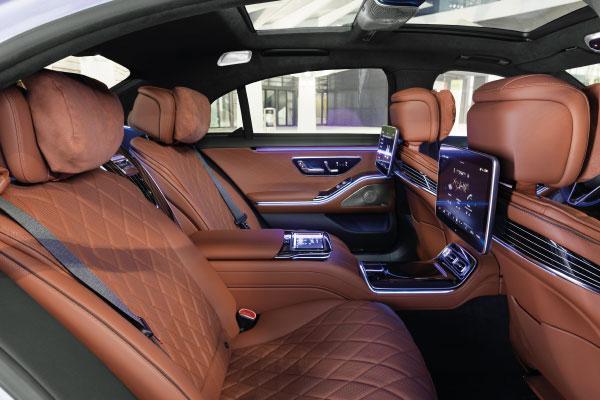 Max Schultz Automobile S-Klasse 2020 Interieur
